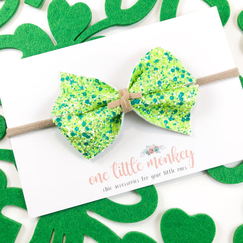 Green Clovers KENNEDY Bow
