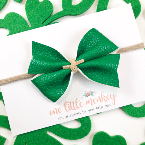 Kelly Green KENNEDY Bow
