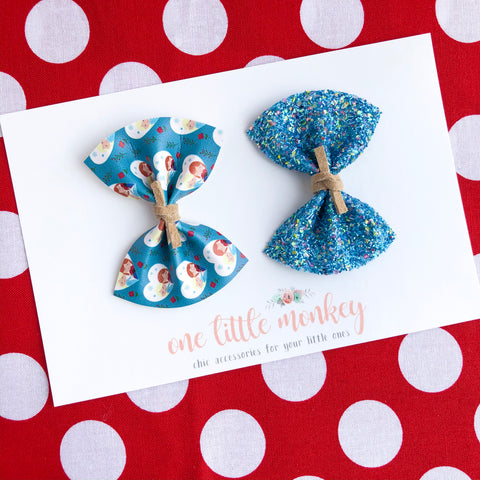 HARPER Bows - Set of 2 - Frozen