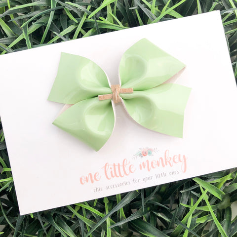 Mint Patent KENNEDY Bow