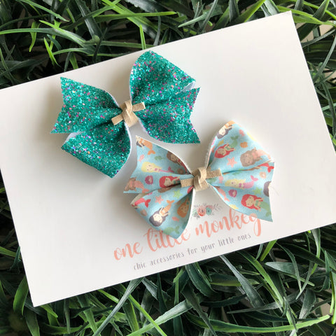 Variety Set RAEGAN Bows - Mermaid Friends