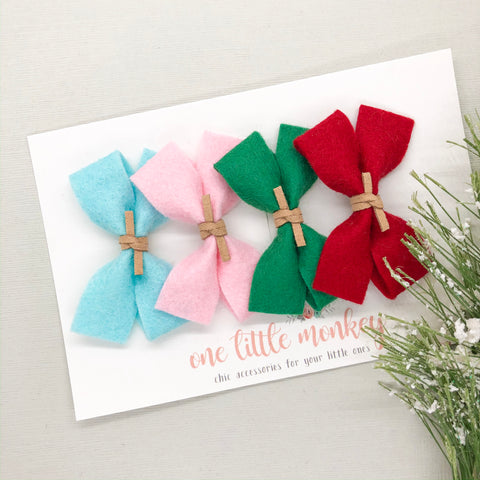 Holiday 2019 GILLIE Bow Set