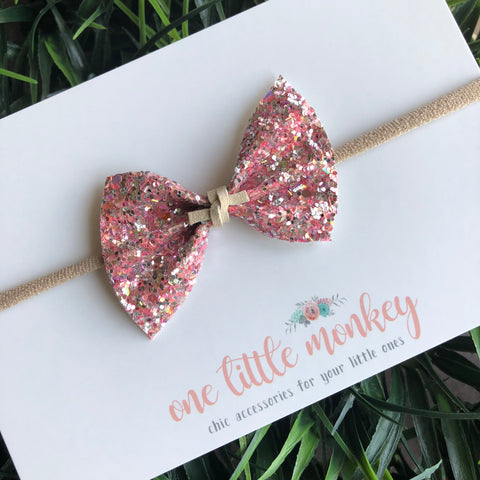 Strawberry Shortcake Glitter SUTTON Bow