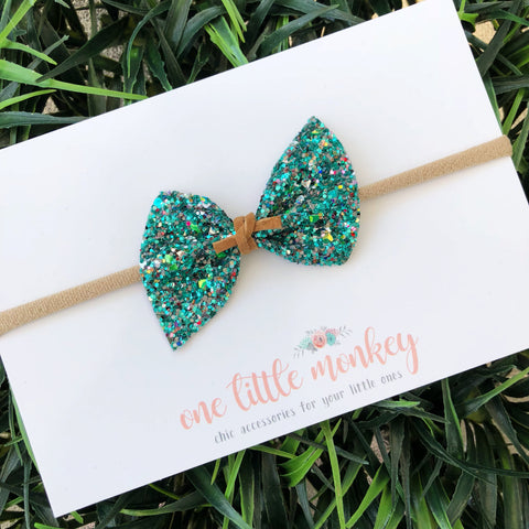 Jaded Glitter SUTTON Bow