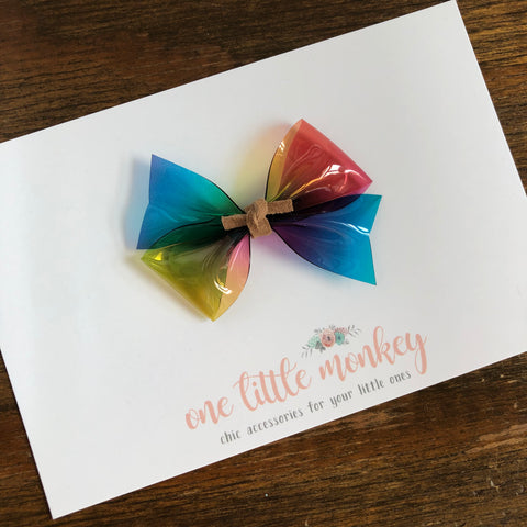 Rainbow Jelly RAEGAN Bow