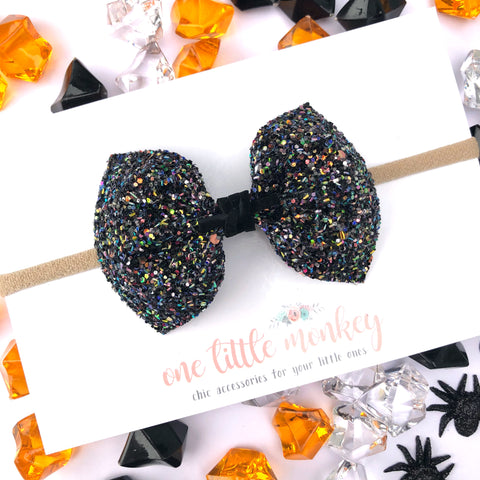 Witches Brew Glitter MILLIE Bow