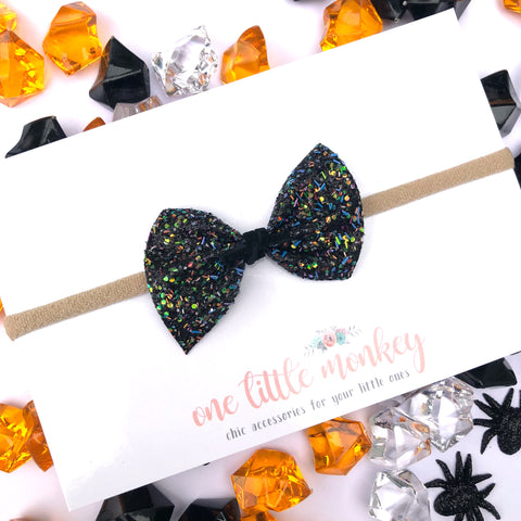 Monster Mash Glitter SUTTON Bow