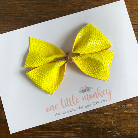 Yellow Snake KENNEDY Bow