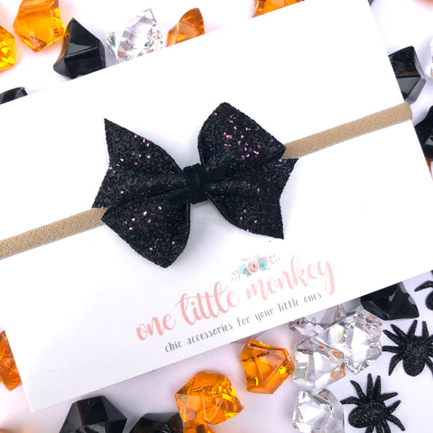 Gone Batty Glitter RAEGAN Bow