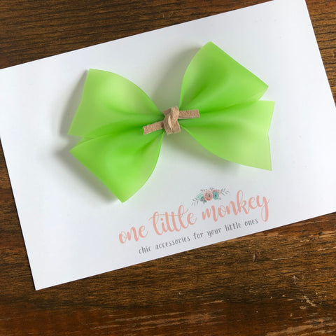 Lime Jelly KENNEDY Bow
