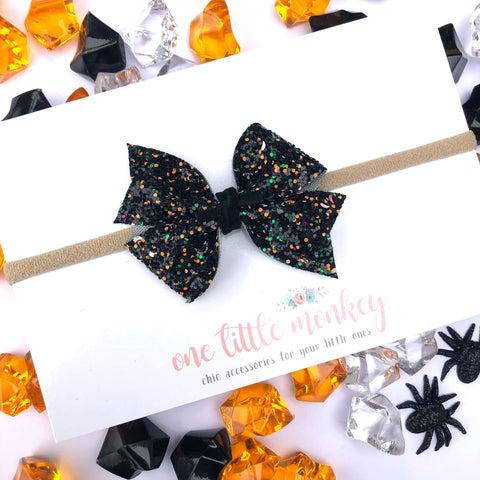 Full Moon Glitter RAEGAN Bow