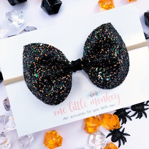 Full Moon Glitter ELIZA Bow