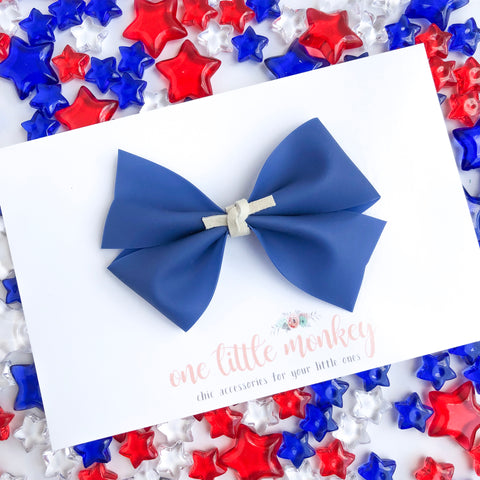 Navy Jelly KENNEDY Bow