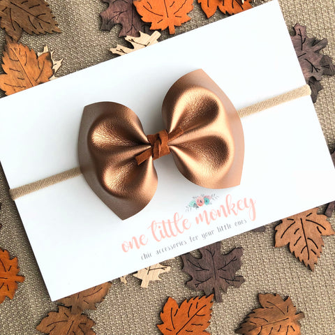 Copper MILLIE Bow