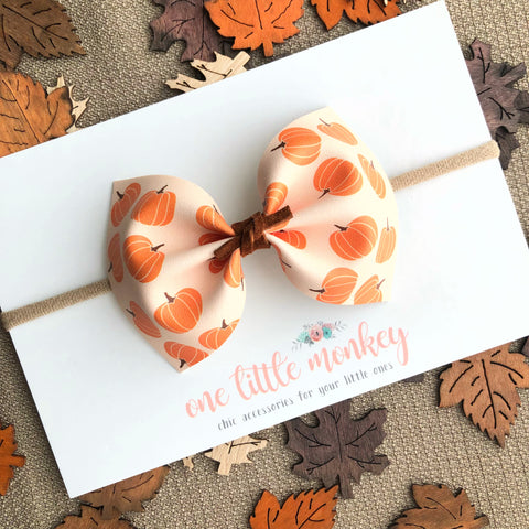 Punkin Patch MILLIE Bow