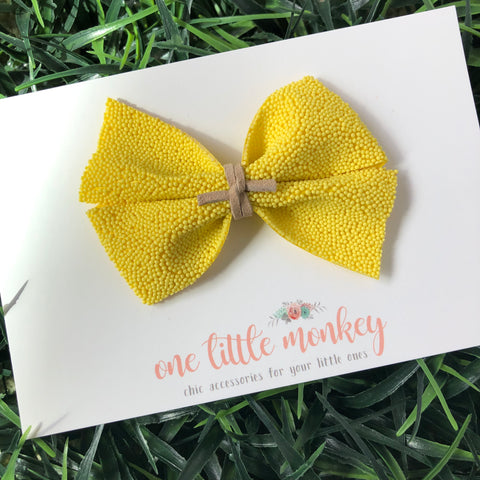 Yellow Sprinkles KENNEDY Bow