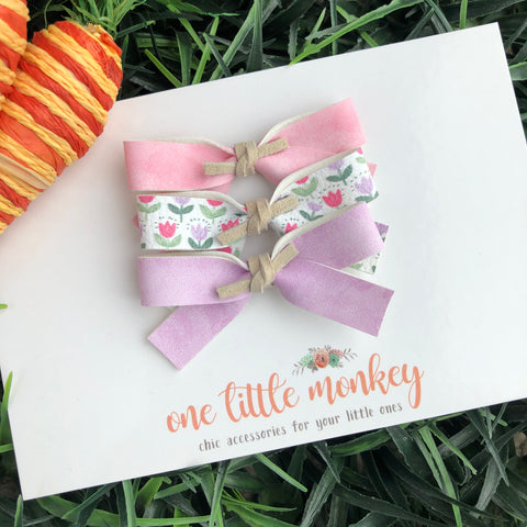 Spring DOTTIE Bows - Set 2 - Headband Only