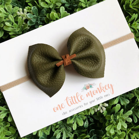 Olive MILLIE Bow