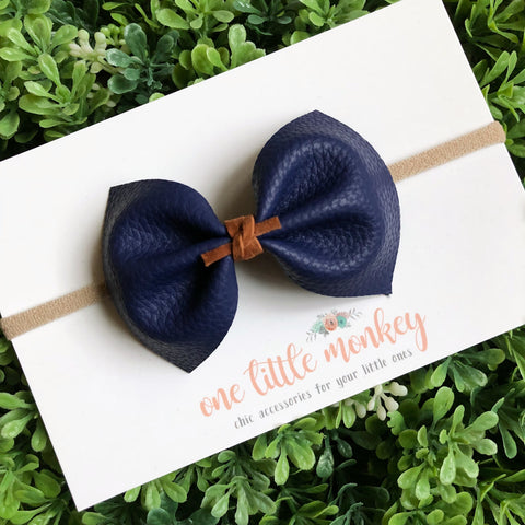 Navy MILLIE Bow
