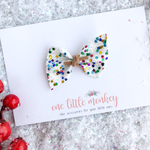 Joyful Glitter SUTTON Bow