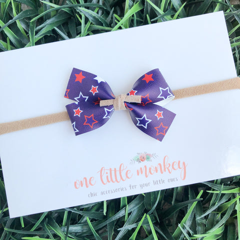 Star Spangled GILLIE Bow
