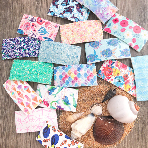 Seaside SNAP CLIPS - You Choose Your Pattern!