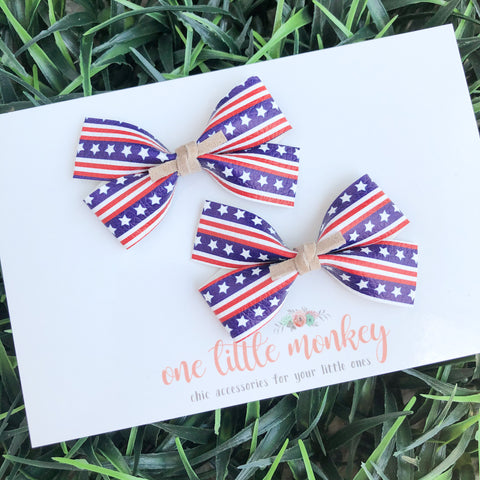 Old Glory GILLIE - Set of 2 Piggy Clips
