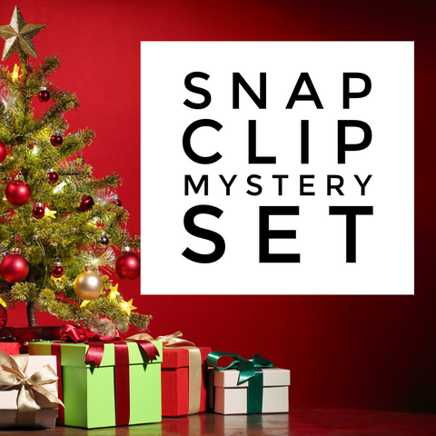Snap Clips - Set of 4 - Christmas Magic Mystery Set