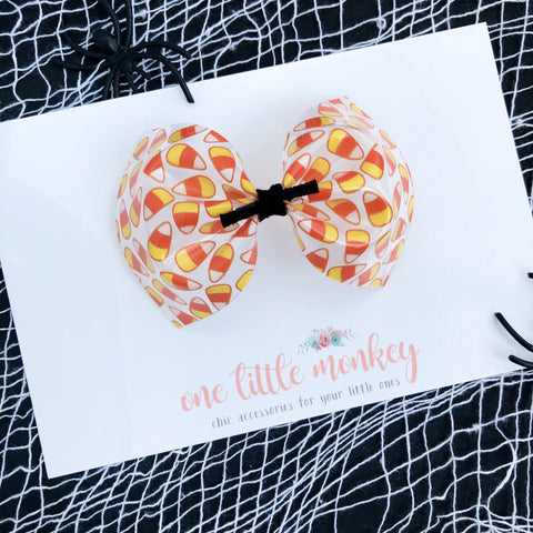 Candy Corn Jelly MILLIE Bow
