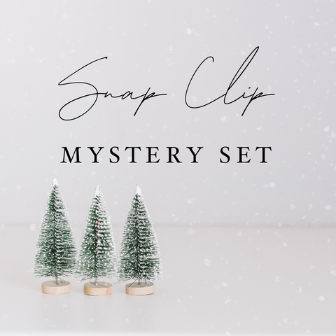 Snap Clips - Set of 4 - Holiday Magic Mystery Set