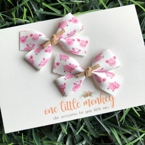 This Little Piggy GILLIE - Set of 2 Piggy Clips