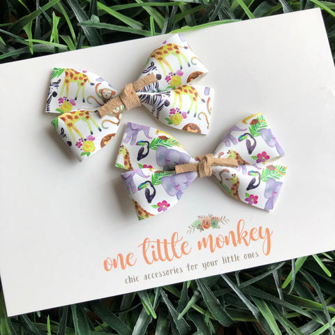 Zoofari GILLIE - Set of 2 Piggy Clips
