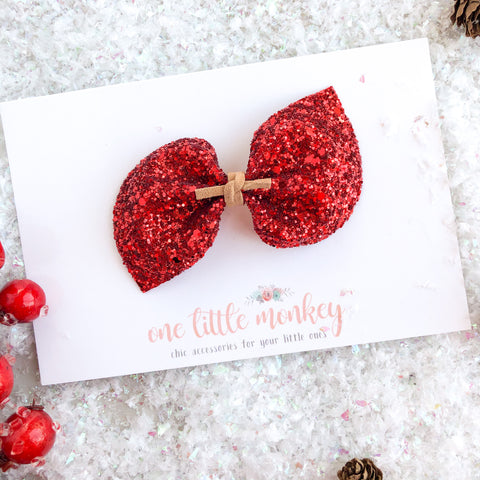 Rudolph Glitter DARCY Bow