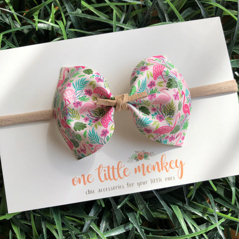 Flamingos MILLIE Bow