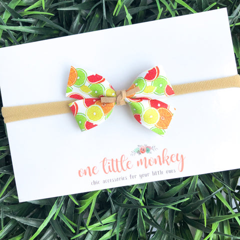 Citrus Slices GILLIE Bow
