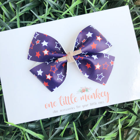 Star Spangled KENNEDY Bow