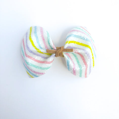 Preschool Stripes MILLIE Bow
