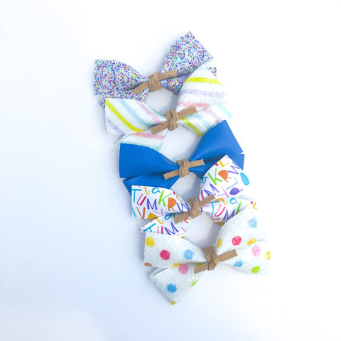 School Days GILLIE Bow - Choose Your Pattern!