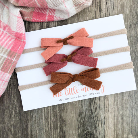 Early Autumn DOTTIE Bows - Set 2