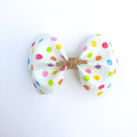Kindergarten Dots MILLIE Bow