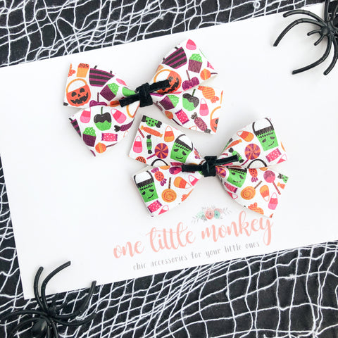 Trick or Treat GILLIE - Set of 2 Piggy Clips
