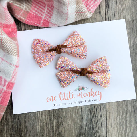 Georgia Peach GILLIE - Set of 2 Piggy Clips