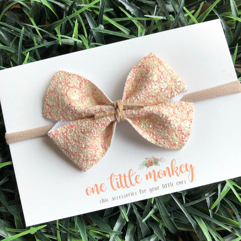 Honeycomb Glitter KENNEDY Bow