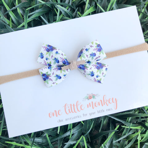 Blueberries GILLIE Bow