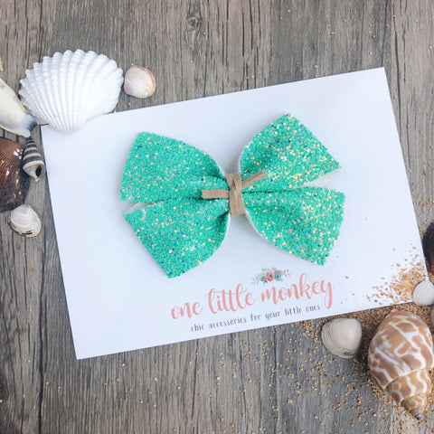 Seaside Glitter KENNEDY Bow