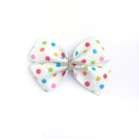 Kindergarten Dots KENNEDY Bow