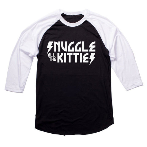 Snuggle all the Kitties Raglan