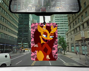 Hormone Monstress car Air Freshener | scented Big Mouth gifts for her Girlfriend Nick Kroll gift perverts Connie puberty PMS bubble baths