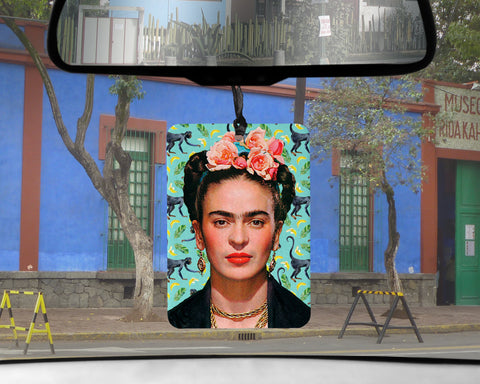 Frida Kahlo car Air Freshener