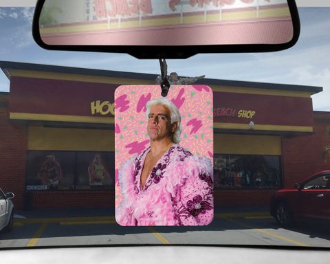 Ric Flair car Air Freshener WWF wrestling wrestler scented